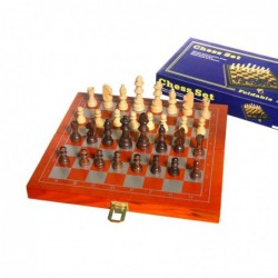 1CI1982 WOODEN CHESS SET...