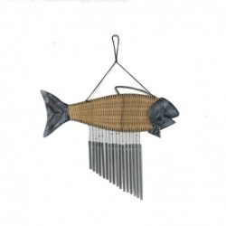 1HK0094  WIND CHIME FISH...