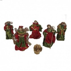 1CI2271 - NATIVITY SET OF 6...