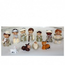 1CI2216 - NATIVITY CRIB SET...
