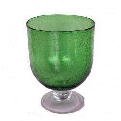 1CI1707  MOUTH BLOWN GLASS...