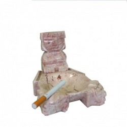 1MX0194  ONYX ASHTRAY WITH...