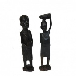 1TZ0409-C - SET OF 2 EBONY...