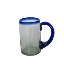 1MX0700  MOUTH BLOWN GLASS...