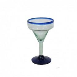 1MX0743  MOUTH BLOWN GLASS...