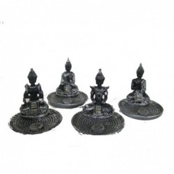 1CI2431 -SET OF 4 BUDDHA...