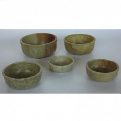 1IN0075 - SOAPSTONE SET OF...