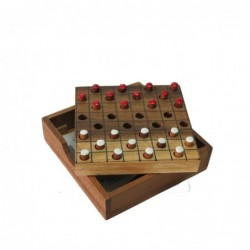 1TL0786 - WOODEN CHECKERS...
