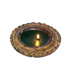 1MX0803 TERRACOTTA CANDLE...