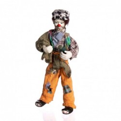 1CI0136   PORCELAIN CLOWN...